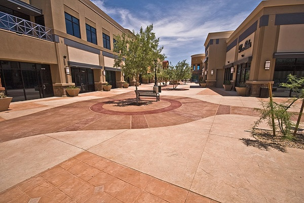 Hardscapes created by a concrete artisan