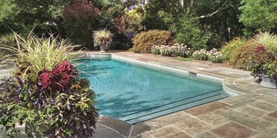 A sealed pool deck can be sold to a customer with a proper explanation of the process and outcome.