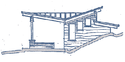 A blueprint of the garage that was added to this custom home