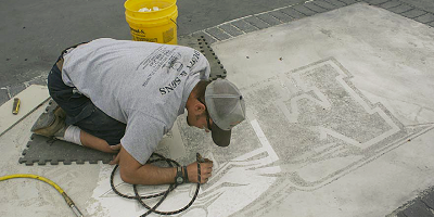 Concrete Industry Management (CIM) Programs are teaching decorative concrete in universities across the country.