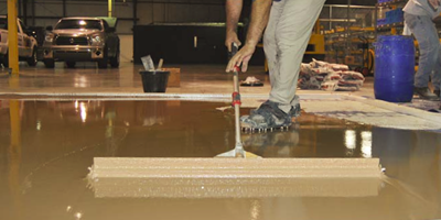 Correctly estimating the thickness needed to get the job done right is one of the biggest issues a contractor faces when applying a polishable overlay.