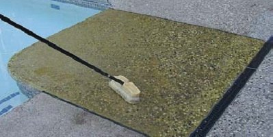 How to clean exposed aggregate