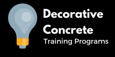 Decorative Concrete Training Programs offer lucrative skills to students.