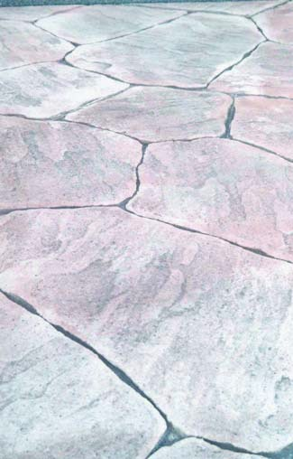 Challenges for colored driveways in the mountains, using color hardener holds up in higher altitudes.