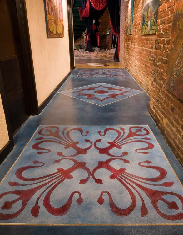 Nashville Nightclub Receives Decorative Coating Makeover