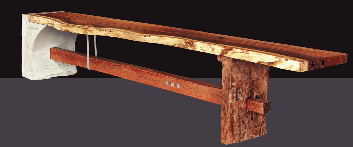 Best in Category: Don Welsh, eleven39 design, Leucadia, Calif., Hygeia bench