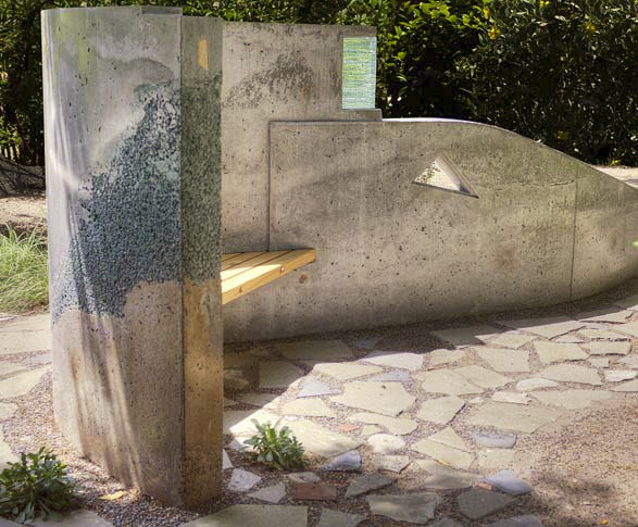 Best in Category: Gary Day, Concrete and Clay, Pasadena, Calif., outdoor sculptural wall.