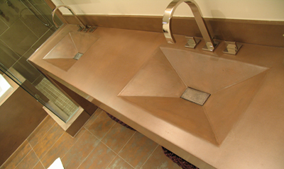Sink Molds, Edge Detail Molds, Tools and Fiber Optics for Concrete ...