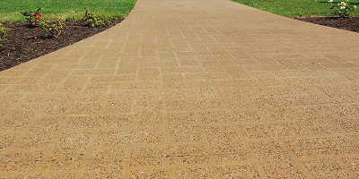 SurfEtch byt Butterfield Color on this walkway.