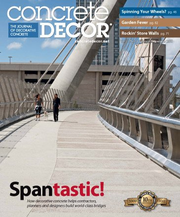 Concrete Decor - Vol. 11 No. 6 - August/September 2011