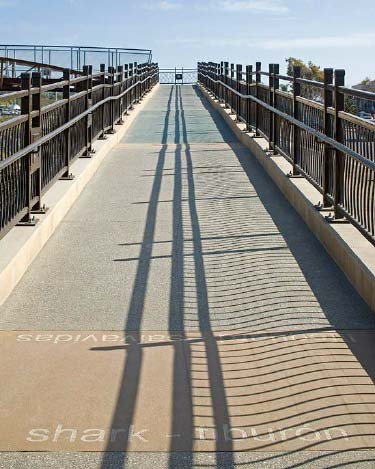 Cliff Street Pedestrian Bridge — Solana Beach, Calif.