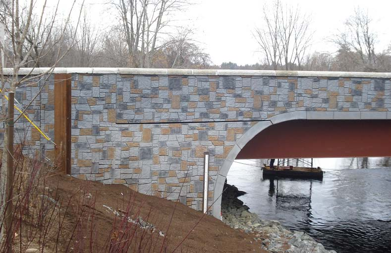 Flowing through the downtown area of the quaint town of Athol, Mass., is the Millers River, the site of a bridge project that has earned Woburn, Mass.-based Donlon Coatings recognition for its staining work.