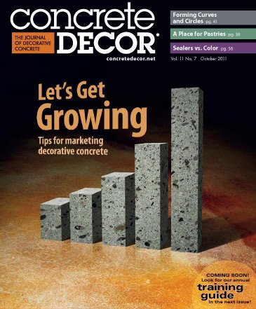 Concrete Decor - Vol. 11 No. 7 - October 2011