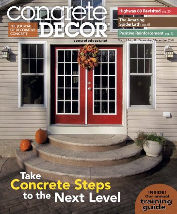 Concrete Decor - Vol. 11 No. 8 - November/December 2011