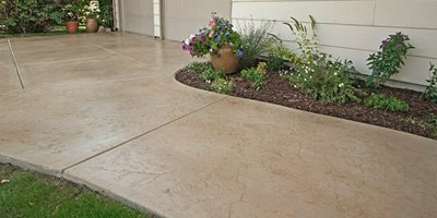 Consistent color in concrete from ready mix concrete company.