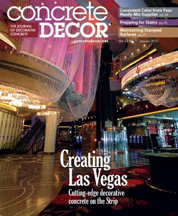 Concrete Decor - Vol. 12 No. 1 - January 2012