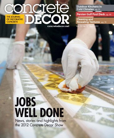 Concrete Decor - Vol. 12 No. 3 - April 2012