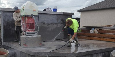 Polishing concrete driveways is a great way to get extra cash.