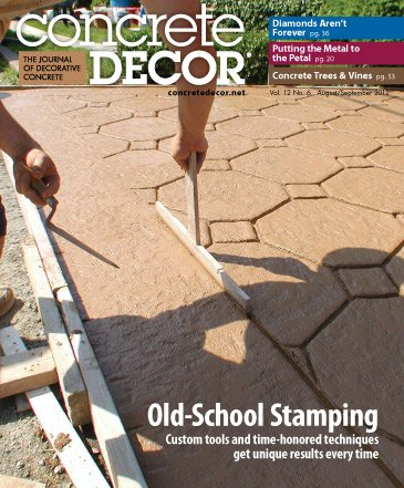 Concrete Decor - Vol. 12 No. 6 - August/September 2012