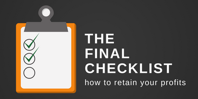 The final checklist graphic