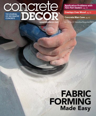 Concrete Decor - Vol. 12 No. 8 - November/December 2012