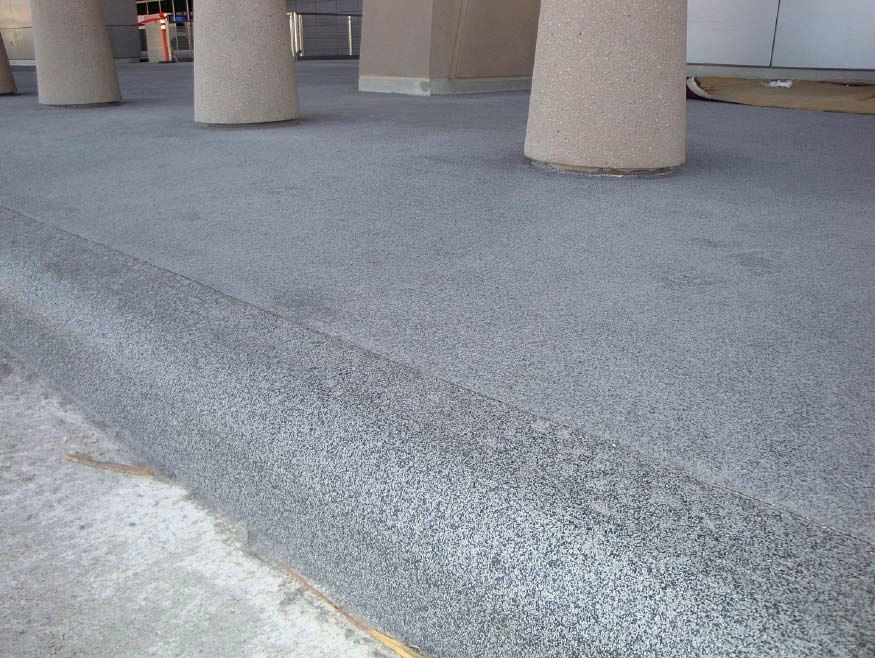 Long Overdue Concrete Overlay Install at McCarran International