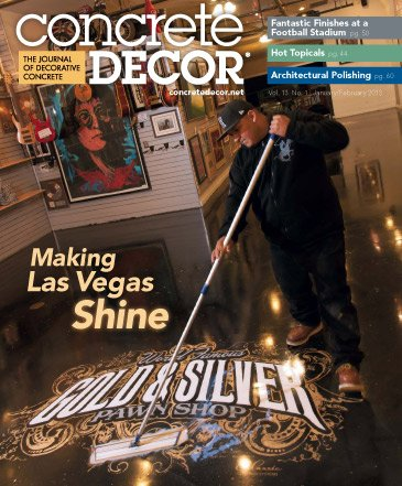 Concrete Decor - Vol. 13 No. 1 - January/February 2013