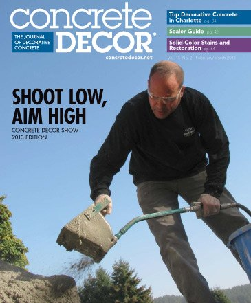 Concrete Decor - Vol. 13 No. 2 - February/March 2013