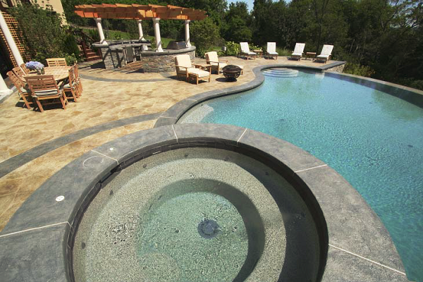 Concrete Artistry, Under 5,000 Square Feet, First Place New England Hardscapes Inc., Acton, Mass., Olinger Residence