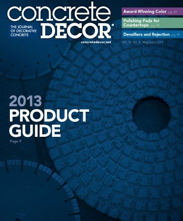 Concrete Decor - Vol. 13 No. 4 - May/June 2013