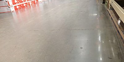 Box store used densifier prior to polishing concrete.