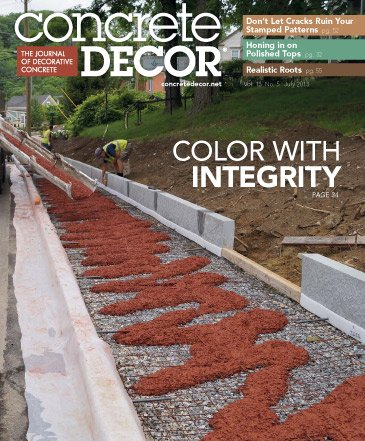Concrete Decor - Vol. 13 No. 5 - July 2013