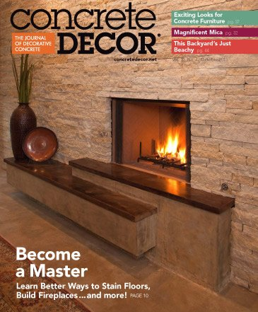 Concrete Decor - Vol. 13 No. 7 - October 2013