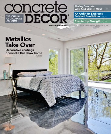 Concrete Decor - Vol. 13 No. 8 - November/December 2013