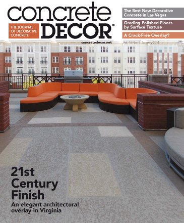 Concrete Decor - Vol. 14 No. 1 - January 2014