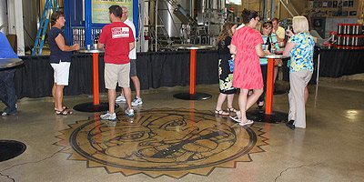 Concrete Crafters Blend Applications at Popular Microbrewery