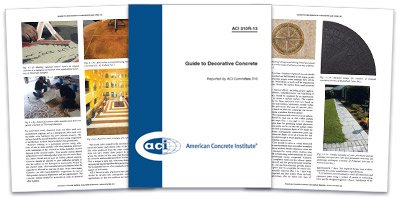 ACI Decorative Concrete Standards Guide