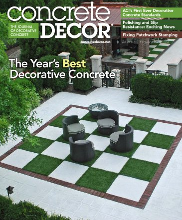 Concrete Decor - Vol. 14 No. 2 - February/March 2014