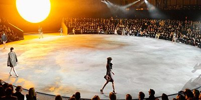Hudson Concrete Marc Jacobs fashion show
