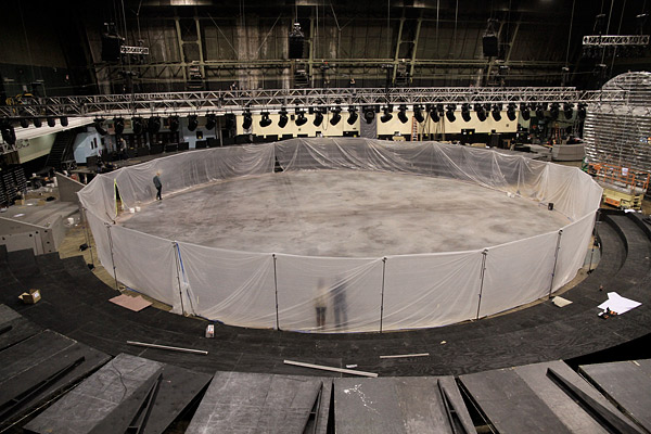 Hudson Concrete - Marc Jacobs Fashion Show Moonscape Under Construction