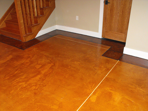 Stamped Concrete Expansion Joints : Filling joints in decorative concrete