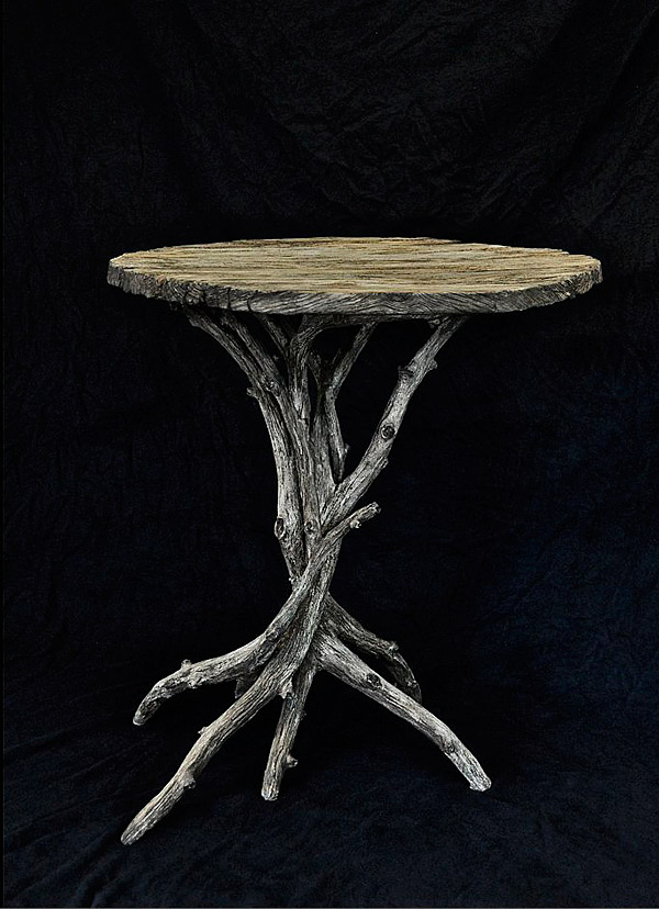 Michael Fogg Concrete Faux Bois Table