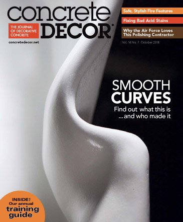 Concrete Decor - Vol. 14 No. 7 - October 2014