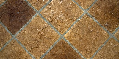 Meditteranean themed decorative concrete