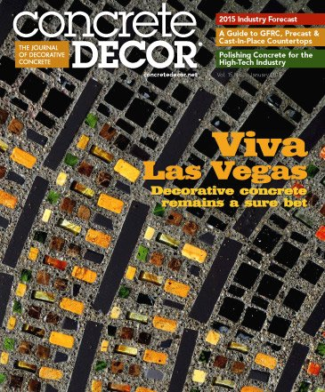 Concrete Decor - Vol. 15 No. 1 - January 2015