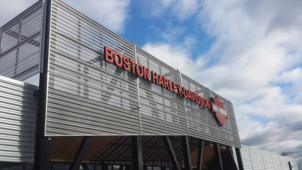 Boston Harley Davidson >> Polished Concrete Installed At Harley Davidson Dealership
