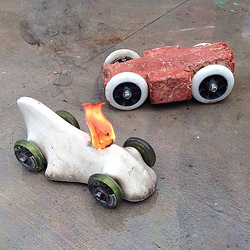 Amigo Rhodes concreto carro de derby