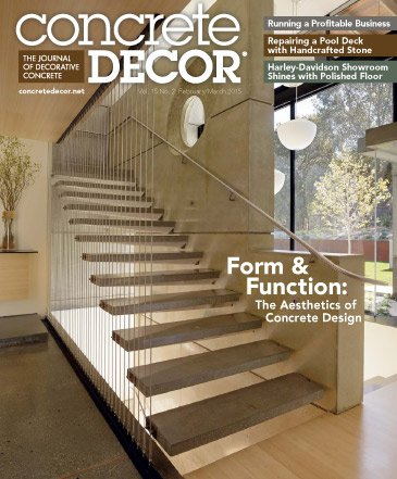 Concrete Decor - Vol. 15 No. 2 - February/March 2015