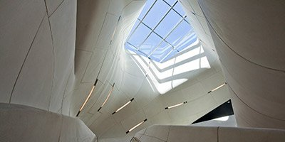 Concrete in Louisianna State Museum - Concrete Decor Magazine