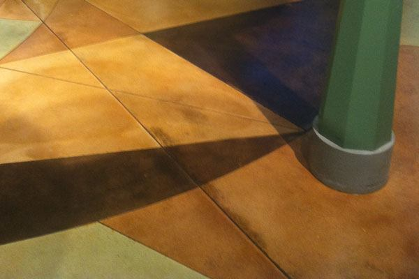 Stained, Over 5,000 Square Feet, Second Place: T.B. Penick & Sons Inc., San Diego, Calif. Great Lakes Crossing Outlets